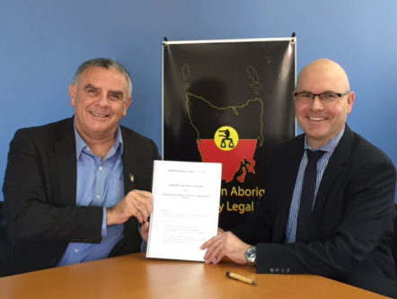 Better access to justice for the Tasmanian Aboriginal community